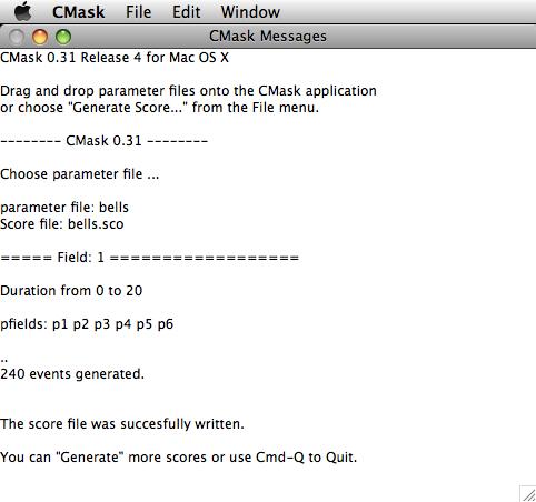 Screenshot of CMask for Mac OS X