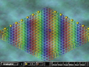 Screenshot of a level using Demo World graphics